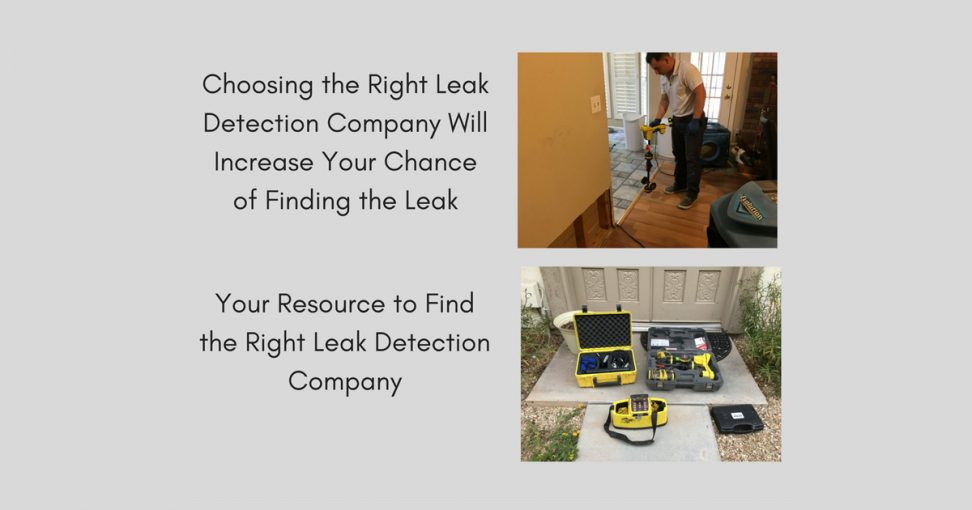 Top 5 Slab Leak Detection Companies in Phoenix